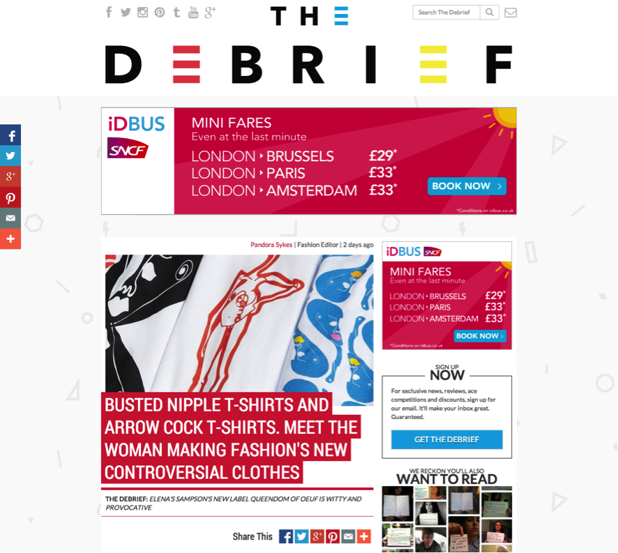 The Debrief Coverage